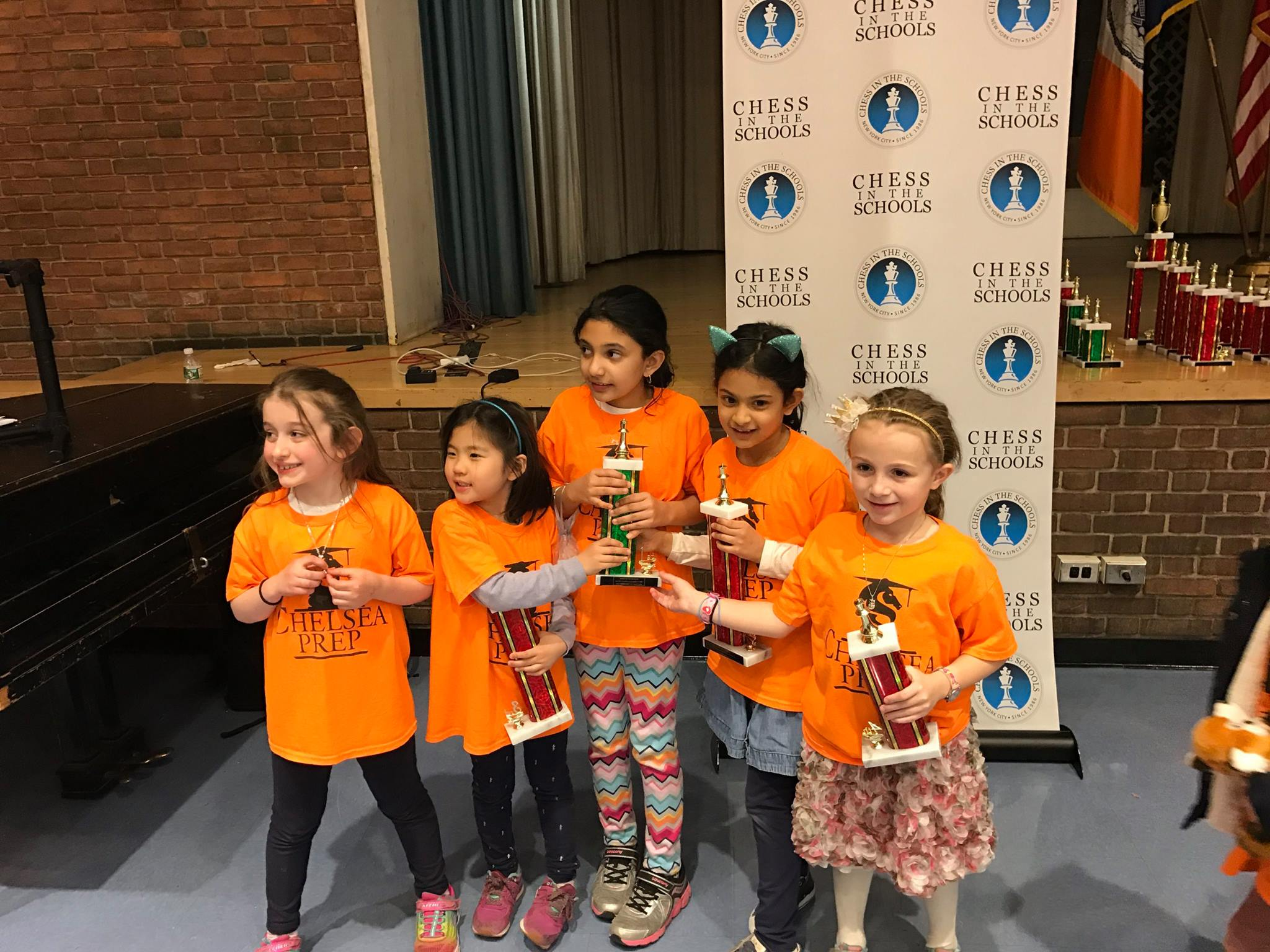 2019 CIS All Girls NYC Chess Championships at PS 11M