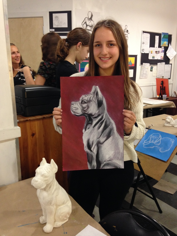 Arts in Action VAP Studio Art and Portfolio Development Program (Teens 11  - 18) - Wednesday