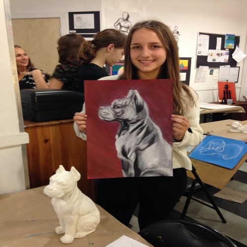 Arts in Action VAP Studio Art and Portfolio Development Program (Teens 11  - 18) - Wednesday