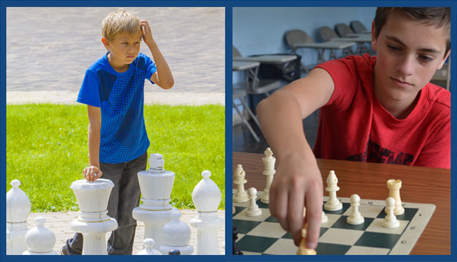 NSCF Summer Chess Program at Greenwich Academy