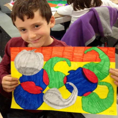 Arts in Action VAP Visual Art After School Program (Ages 3-6) - Wednesday